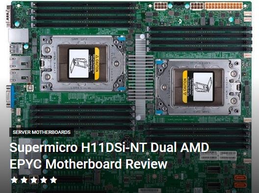 Sth A Twitter Our Supermicro H11dsi Nt Review This Eatx Motherboard Features Dual Amd Epyc 7000 Series Cpus Up To 2tb Of Ram 10gbase T And Plenty Of Storage And Pcie Expansion In An