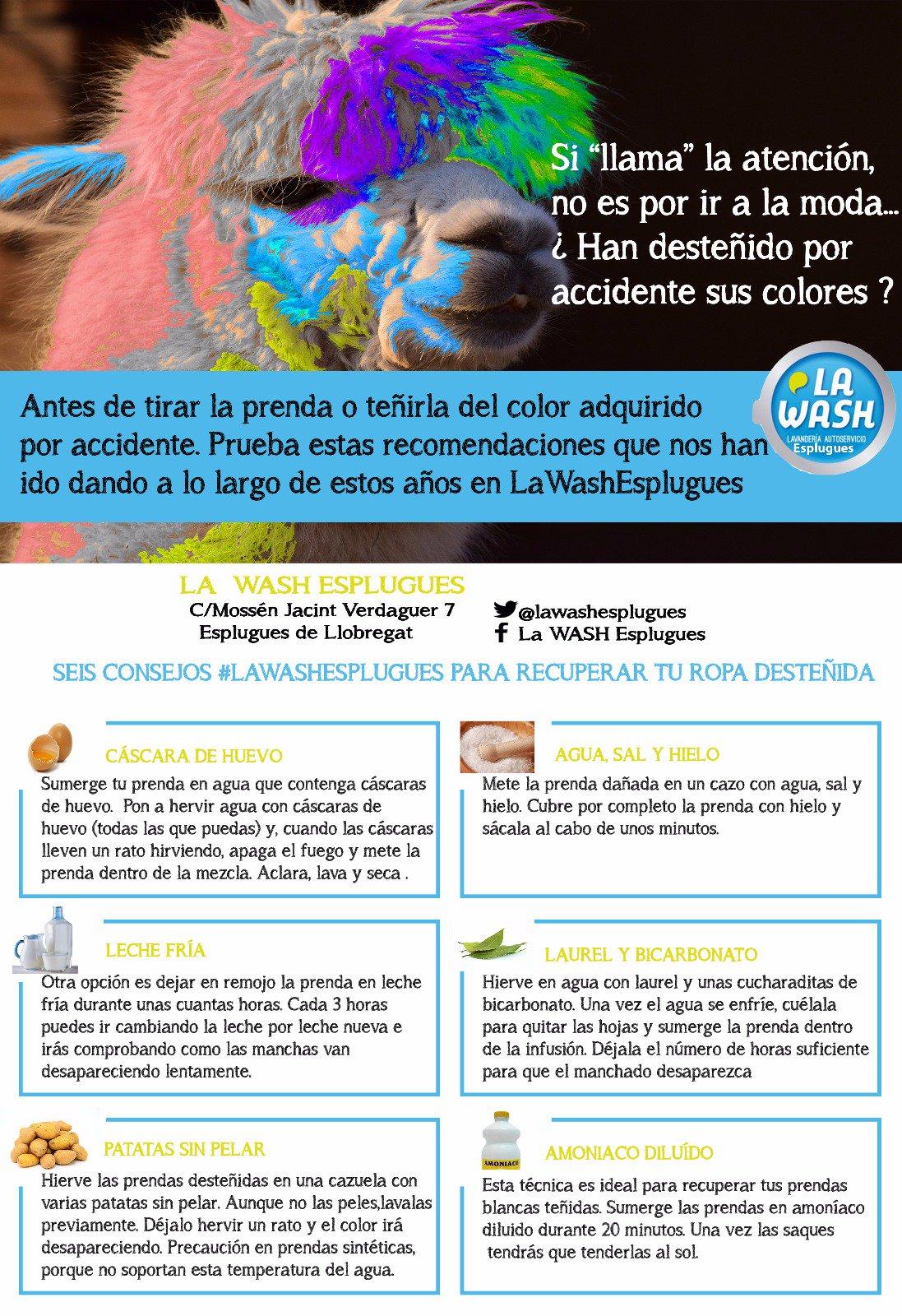 elegir oficial Venta de liquidación 2019 Buenos precios La Wash Esplugues على تويتر: