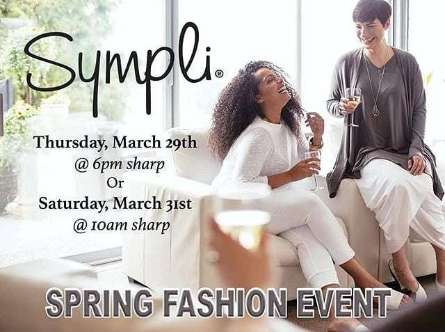 Only a few more hours until the first of Happy Go Lucky Her's Sympli Style Spring Fashion Shows! RSVP for one of their presentations and shop a HUGE selection of @symplistyle. Drinks and snacks provided! Visit their website for details on how to RSVP. #shortnorth 📷: @shophap… https://t.co/VIc7TsH9Cd