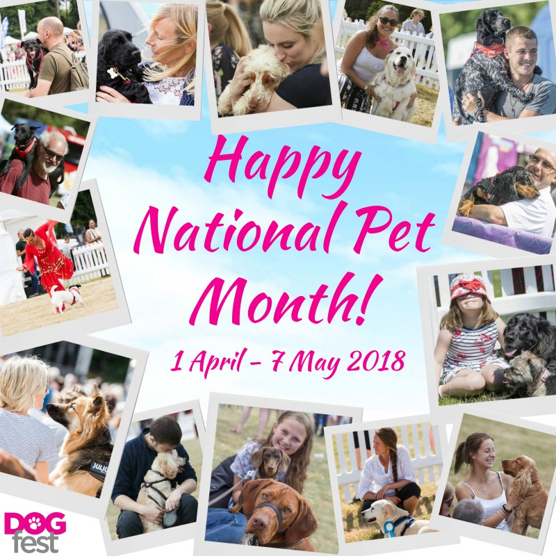 Yesterday marked the start of #NationalPetMonth 💕