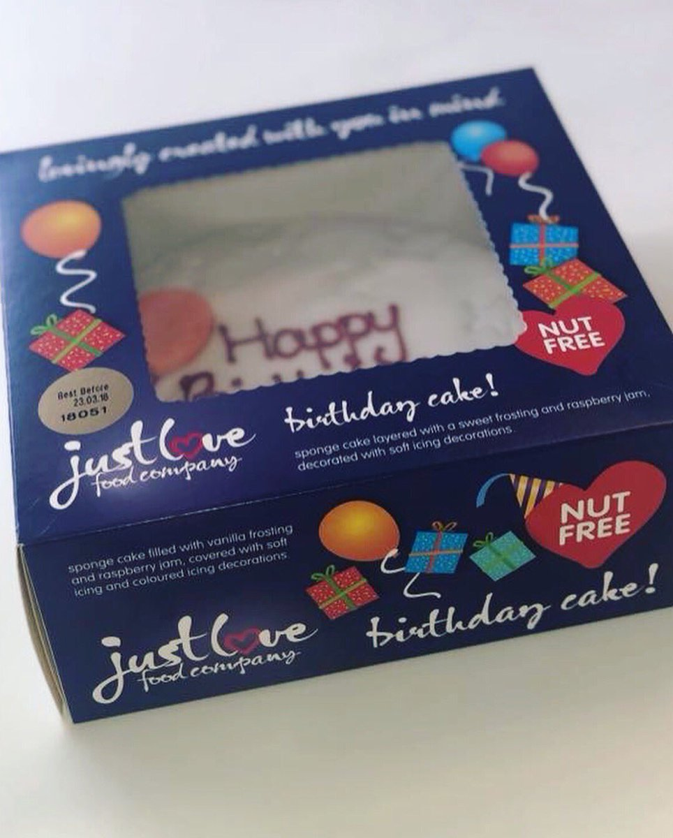 Magnificent Just Love Food On Twitter Big News We Have A Brand New Personalised Birthday Cards Cominlily Jamesorg