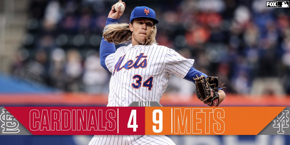 fox sports mlb on twitter the mets and thor hammer their way to