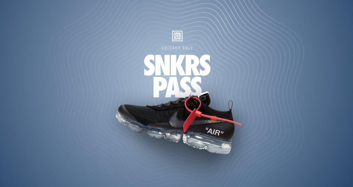 d75580df122bb Nike SNKRS Pass Chicago! Off-White x Nike Air Vapormax 2  http   ow.ly tBvA30jdZNx pic.twitter.com zqat8CQ6Iw