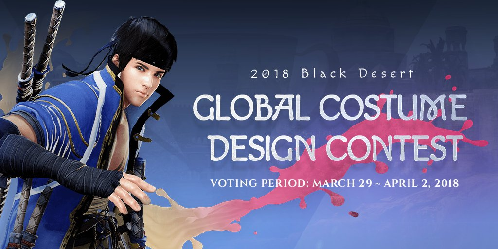 Black Desert Online Pc On Twitter Pearl Abyss Is Hosting The Next Round Of Voting Every Region Has Submitted Their Top 5 Designs Vote Now For The Top 10 Contest Details