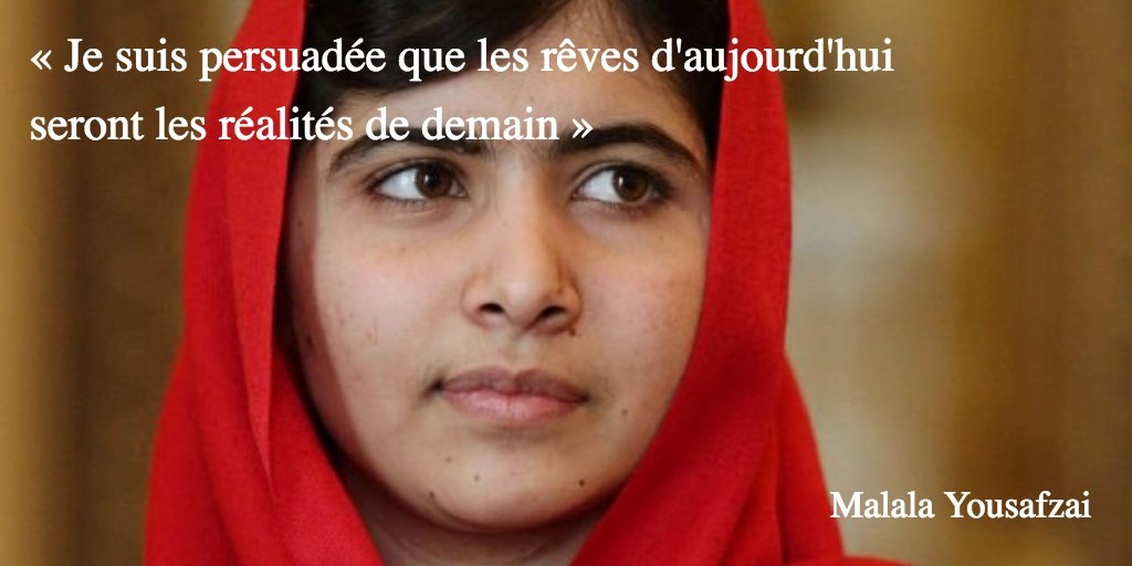 Marie Claire On Twitter Malala Yousafzai En 10 Citations Https
