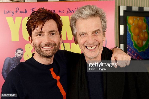 David Tennant at You, Me And Him screening in London - Thursday 29th March 2018