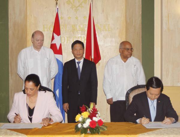 Cuba y Vietnam firman acuerdo acerca del Mariel