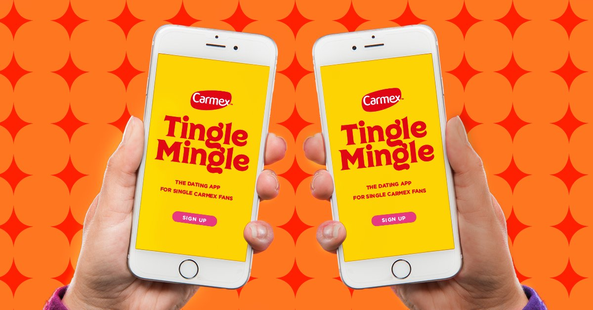 Carmex On Twitter Are You A Single Carmex User Looking For Another Single Carmex User Then Try Our New Carmex Tingle Mingle App Download And Balmright To Make It A Match This
