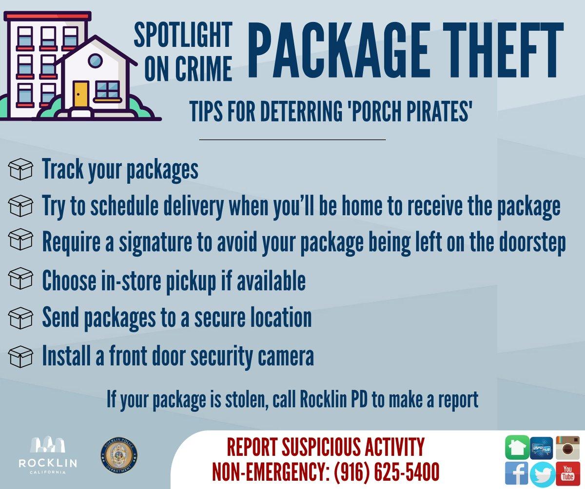 Hashtag #packagetheft na Twitteru