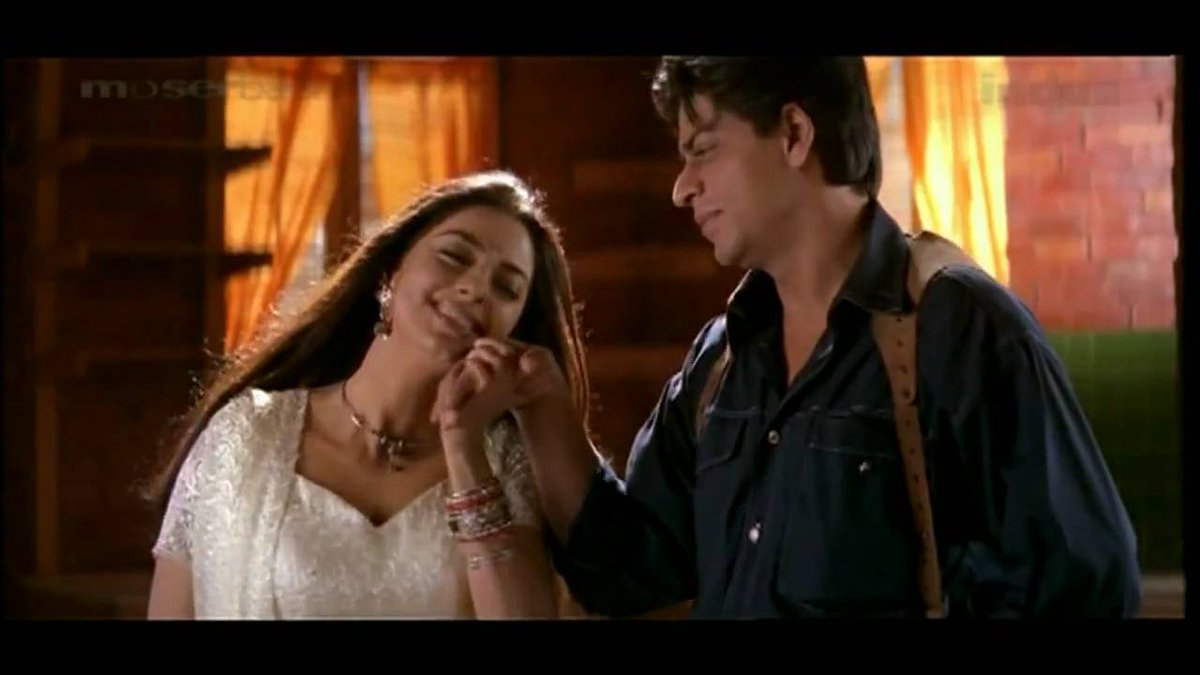 """Juhi Chawla Fan Page on Twitter: """"Some lovely cute romantic moments in One  2 ka 4 with @iam_juhi and @iamsrk Infact this is was the last full-fledged  Srk-Juhi starrer. #17YearsOfOne2Ka4… https://t.co/3N7hyYafUJ"""""""