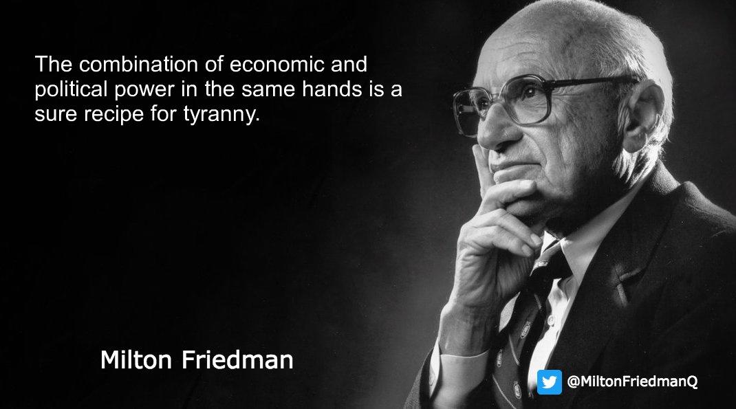 Milton Friedman Quotes Inspiration Milton Friedman MiltonFriedmanQ Twitter