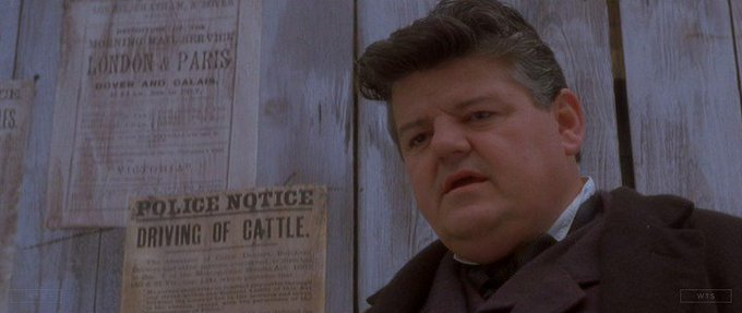 Born on this day, Robbie Coltrane turns 68. Happy Birthday! What movie is it? 5 min to answer!