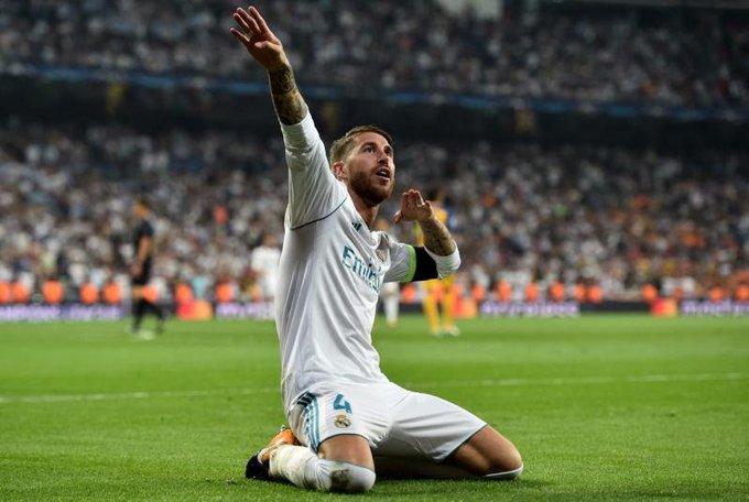 "Happy Birthday to the World\s Best Defender \"" Captain Sergio Ramos \"""