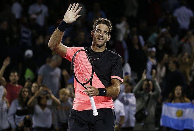 Tenis | Del Potro en busca de su tercera final consecutiva
