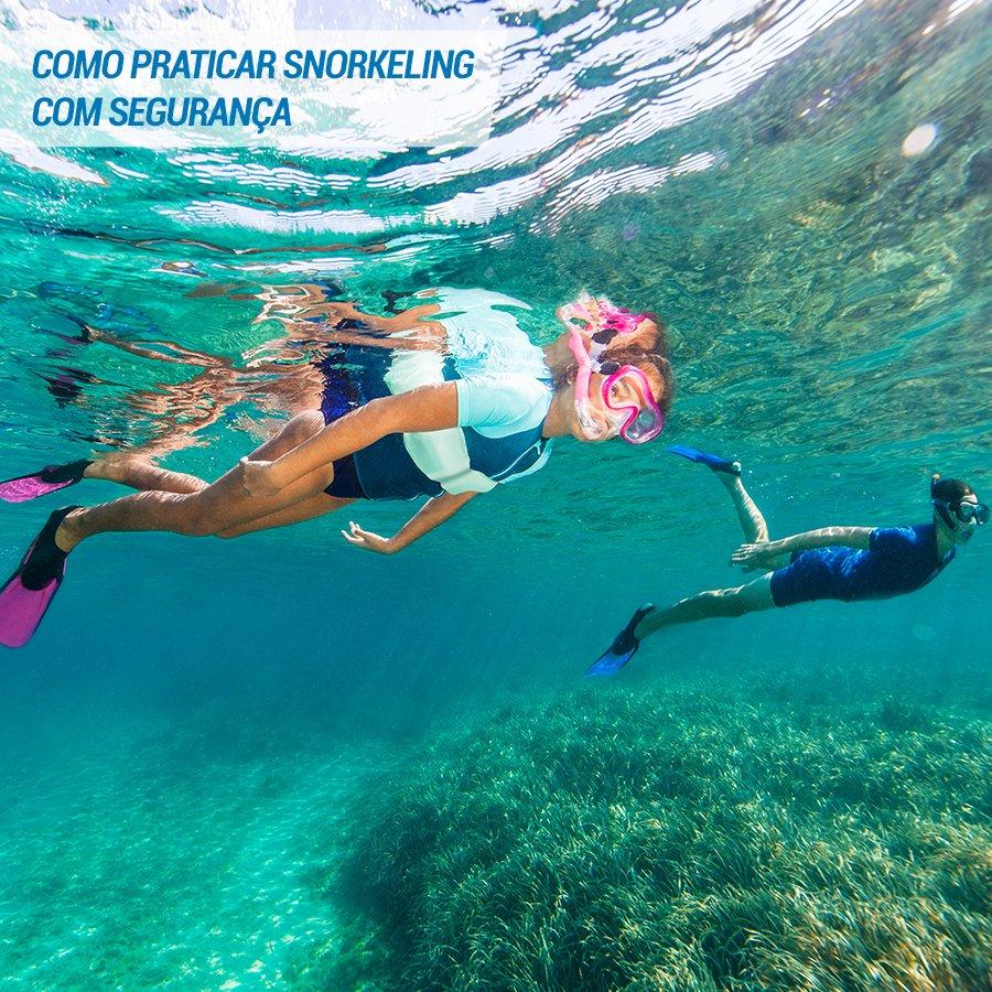 208367a8f5546 Vai experimentar ou praticar Snorkeling  Aqui vão algumas regras básicas de  segurança para você aproveitar seu mergulho!