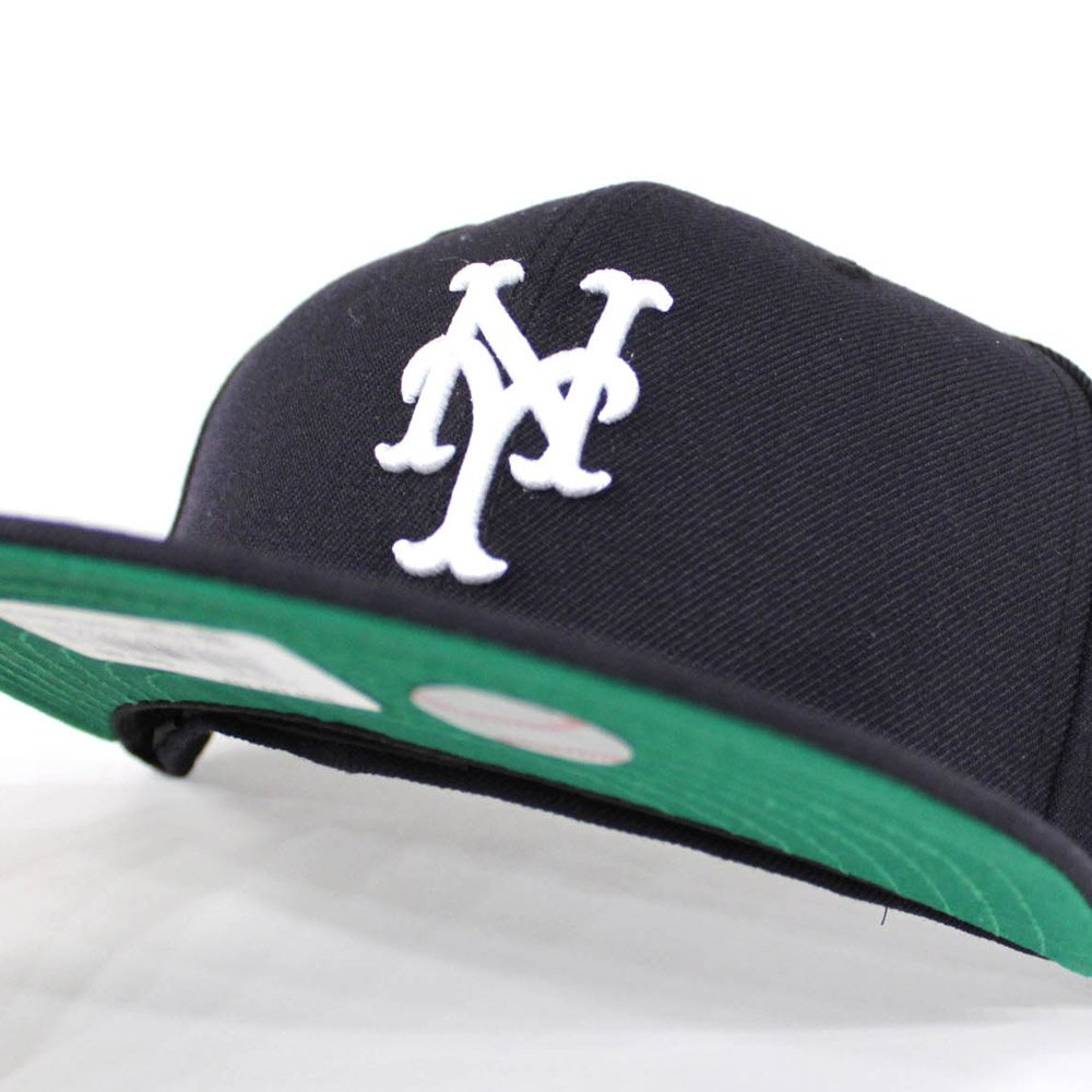 67fe1c052 ... cheap ecapcity new york mets new era 59fifty fitted hats navy green  under brim ny yankees