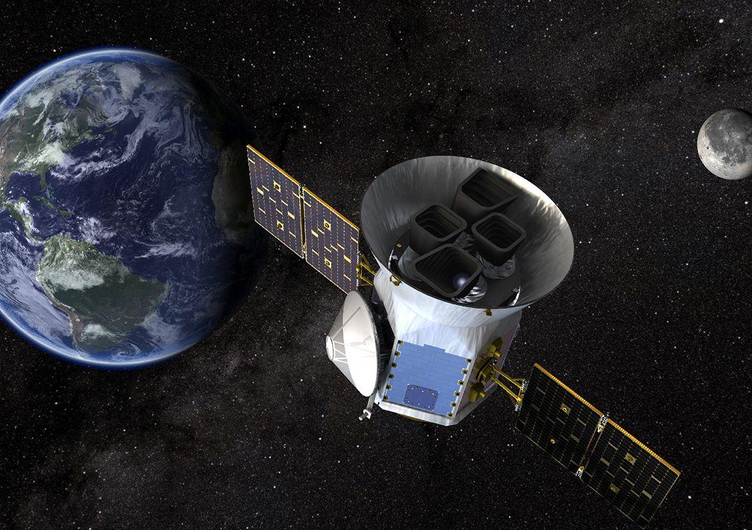 Nasa retoma busca por planetas que orbitam estrelas além do Sol. Sonda deve substituir Kepler, que descobriu a maior parte dos exoplanetas nos últimos 20 anos. #Focoemvocê