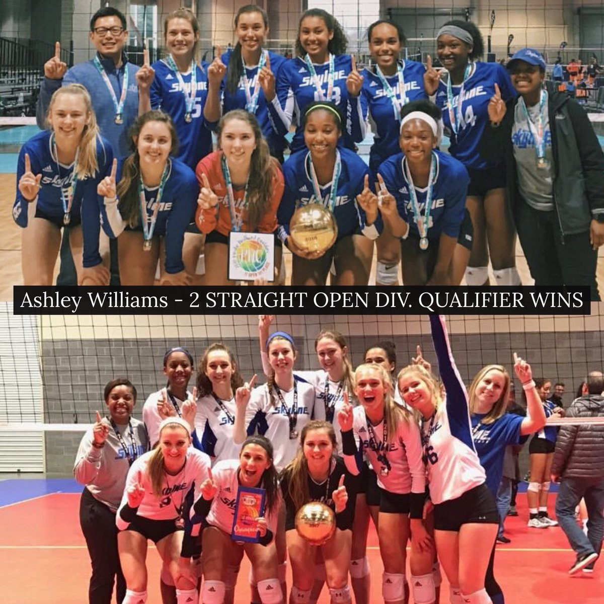 Houston Skyline On Twitter 2nd Straight Year For Coach Asst Director Ashley Williams To Win An Open Division National Qualifier Weareskyline Skylinefam Https T Co 0akx33jjjt