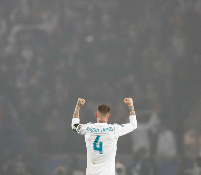 Happy Birthday to the legend Sergio Ramos. Our captain. Our leader.
