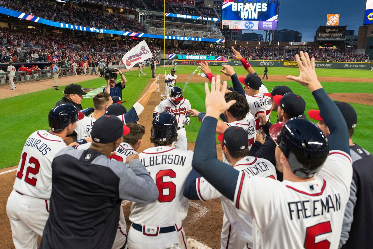 the latest 1e6d6 614d3 Atlanta Braves on Twitter: