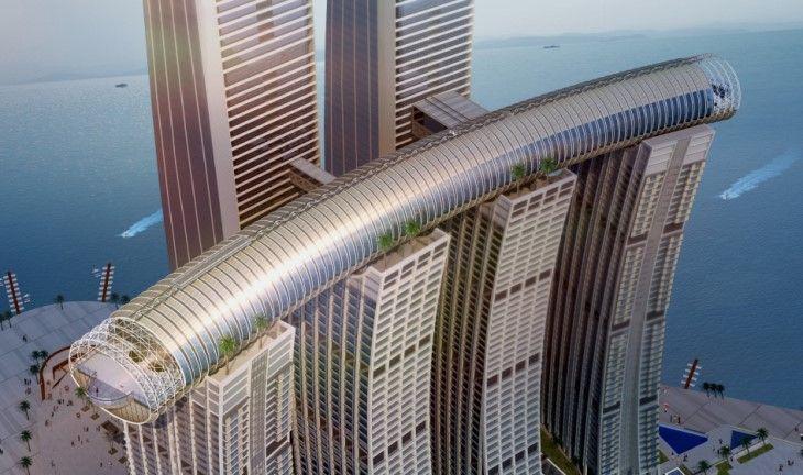 architectural engineering buildings. @SafdieArchs Engineers: @ArupGroup #architecture #architects # Engineering #Engineers #skyscraper #building #innovation #Renderings #rafflescity #Tower Architectural Buildings R