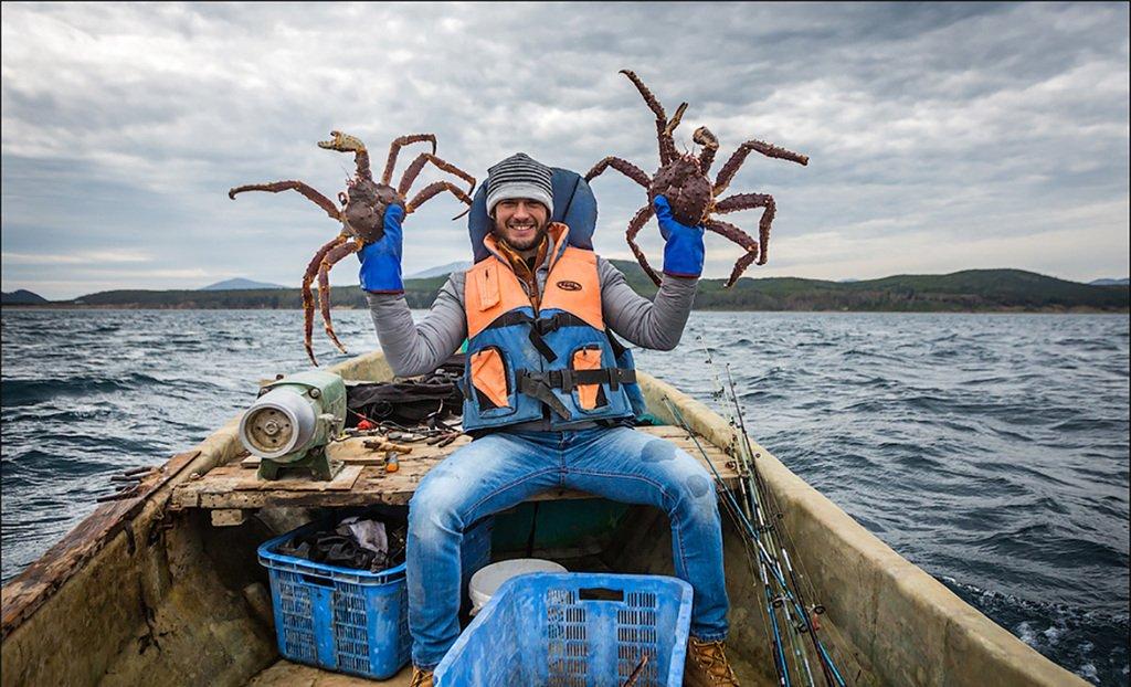Смотреть видео рыбалка на краба — 15