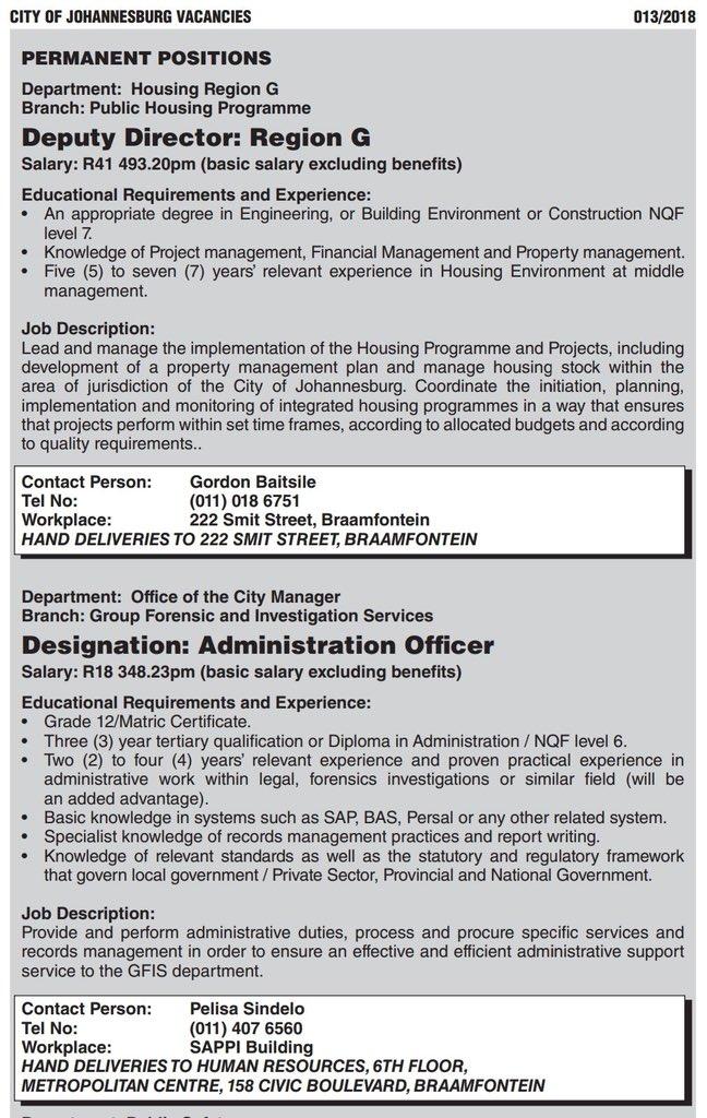 deputy director job description