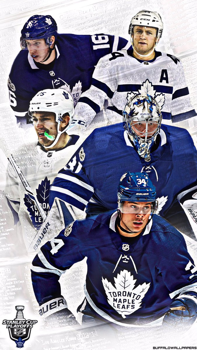 Buffalo Wallpapers On Twitter Toronto Clinched A Playoff Spot Maple Leafs Playoffs IPhone Wallpaper MapleLeafs StandWitness GoLeafsGo NHL