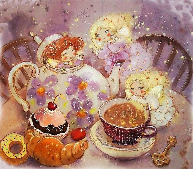 Волшебные картинки с добрым утром, поздравляю победителей открытки