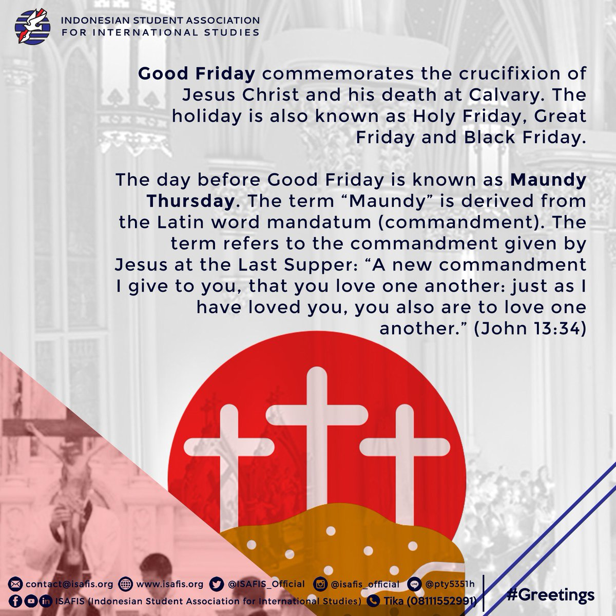 Isafis on twitter happy good friday may his light guide your isafis 2018 isafis2018 isafis greetings goodfridaypicitterz491qxg5hf m4hsunfo