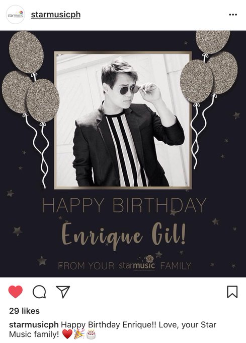 ""\"""" Happy Birthday Enrique Gil from Star Music""489|680|?|en|2|ec0b21674c60319de1025cc59e3d9d28|False|UNLIKELY|0.38937199115753174
