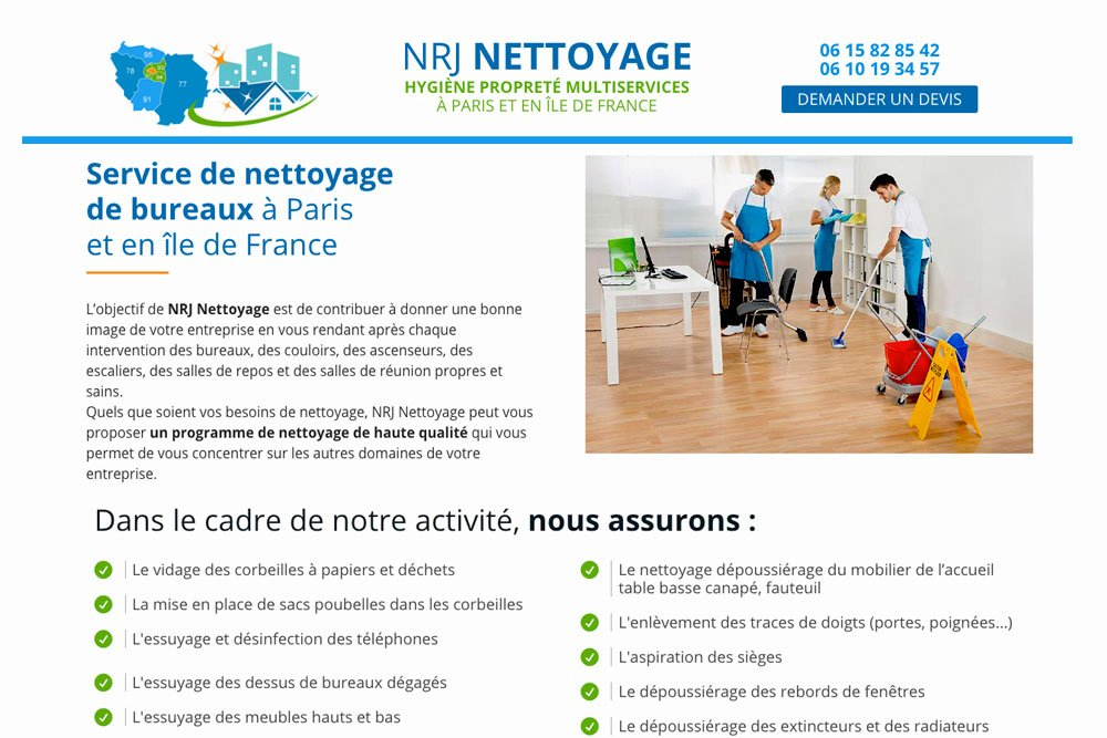Nrj Nettoyage On Twitter Notre Entreprise Est Specialisee