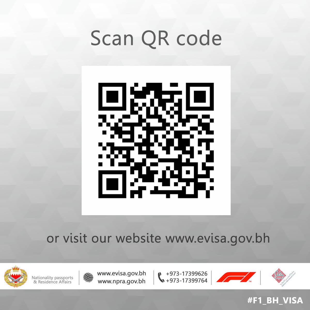 Ministry Of Interior On Twitter 115 Countries Have The Opportunity To Apply For F1 Evisa Directly Scan The Qr Code Or Visit The Https T Co Fjdjotxymb To Check The List Https T Co 6zto3ulzkq