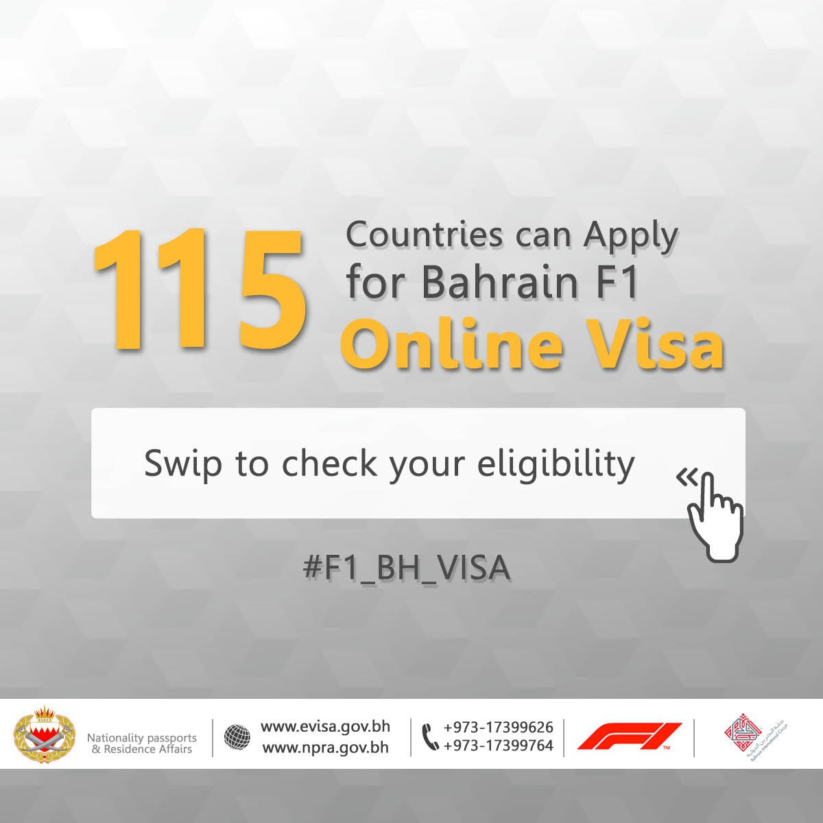 Ministry Of Interior Pa Twitter 115 Countries Have The Opportunity To Apply For F1 Evisa Directly Scan The Qr Code Or Visit The Https T Co Fjdjotxymb To Check The List Https T Co 6zto3ulzkq