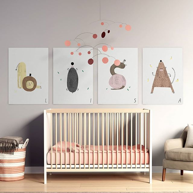 Kids Room Decoration❤️ - Get these designs by typealive in the link in bio. - #artboxone #bespecial https://t.co/nK5te0dFfx