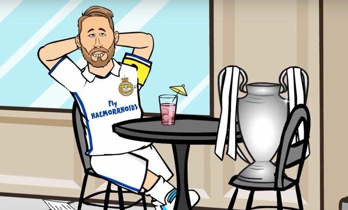 Happy Birthday Sergio Ramos What do you think Ronaldo got him?