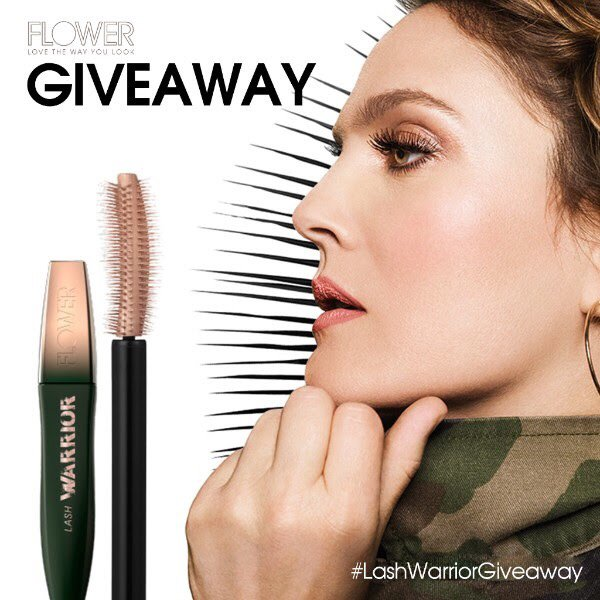 89d981f222e ... NEW revolutionary Lash Warrior Mascara that everyone is talking about.  We have 25 to give away! #FLOWERbeauty #LashWarrior Don't wait, ...