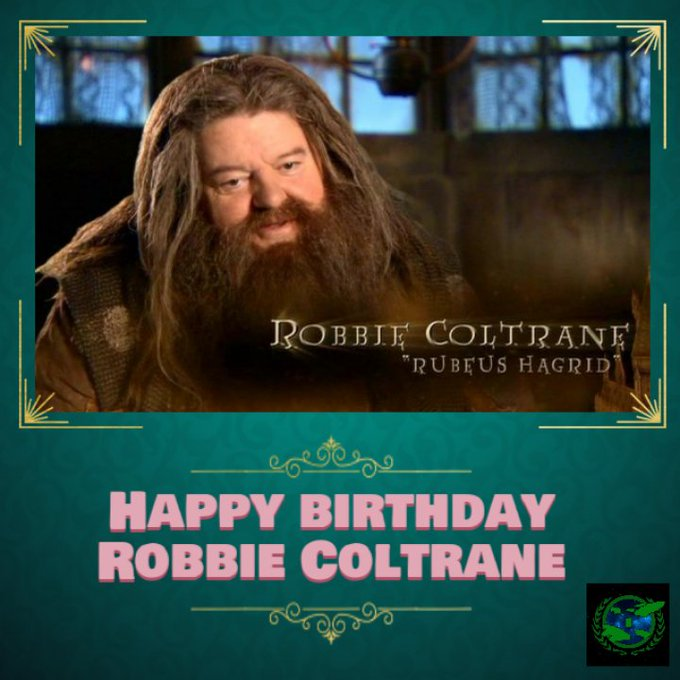 Happy birthday Robbie Coltrane