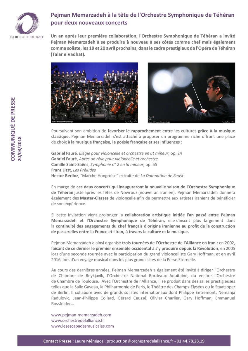 Orchestre Alliance On Twitter
