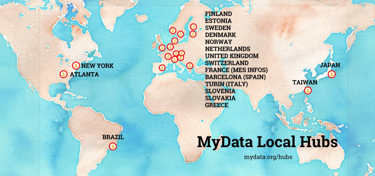 Mydata on twitter there are now some 20 mydata local hubs human centric approach to personaldata is a global one whats happening in your region set up a hub in your country get in touch gumiabroncs Images
