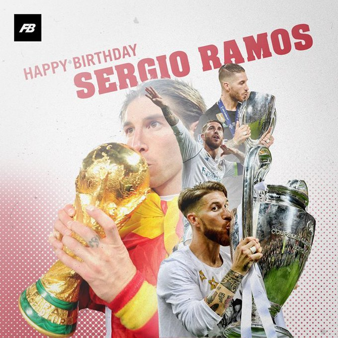 Happy Birthday Sergio Ramos!
