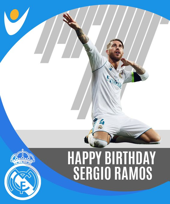 Happy Birthday Sergio Ramos !