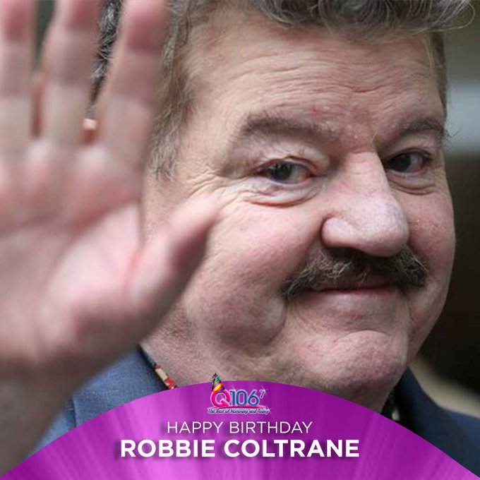 Happy Birthday to Hagrid! Actor Robbie Coltrane turns 68 today!