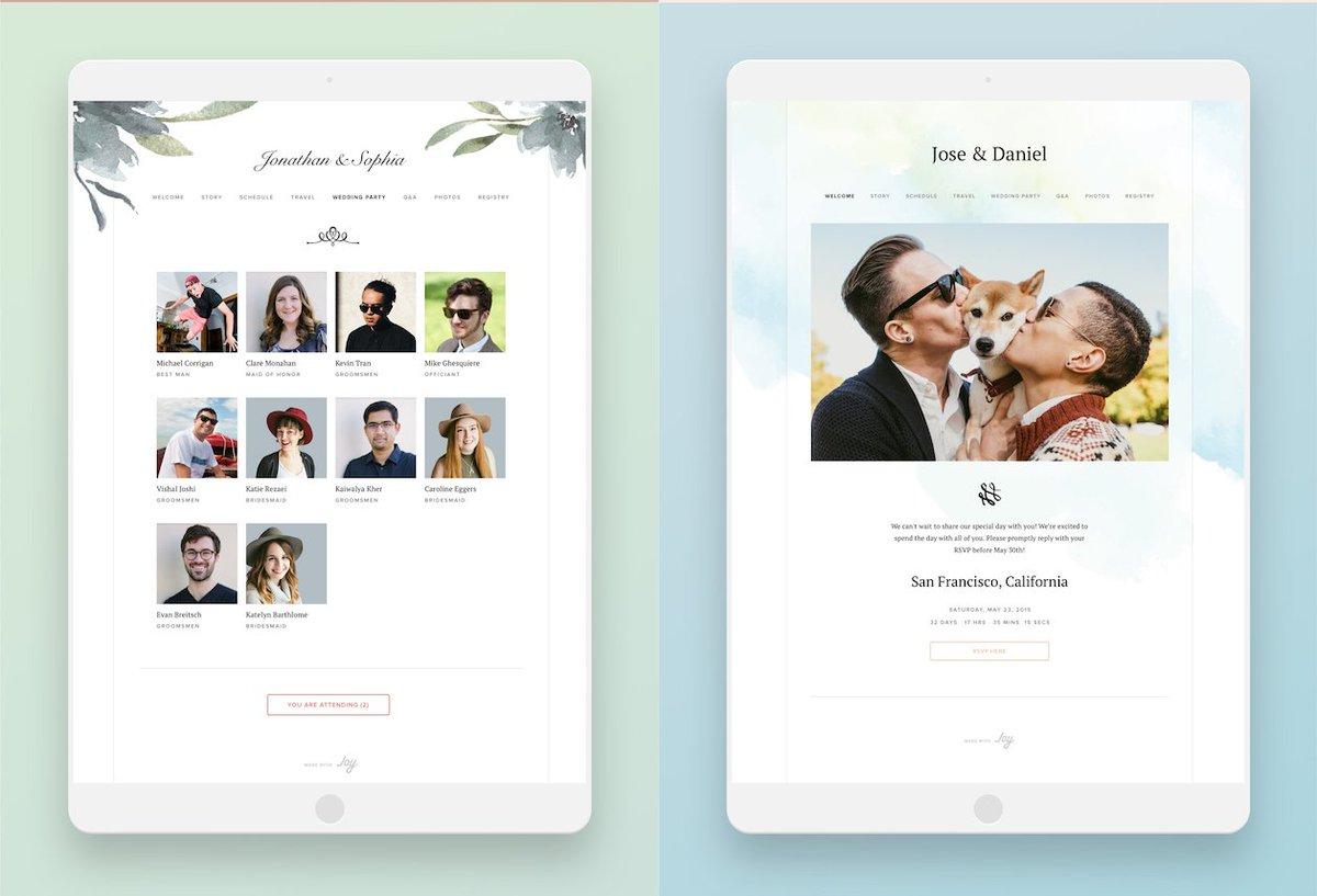 Joy Wedding Website.Joy The App Joytheapp Twitter