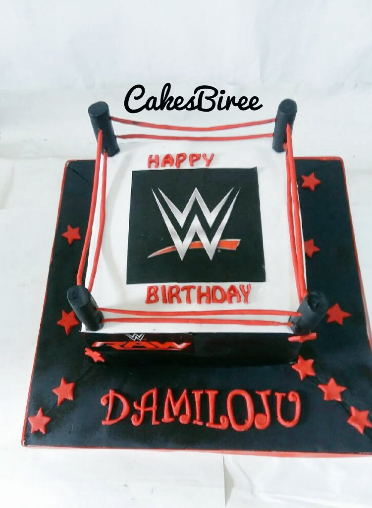 Toros Cakes On Twitter This Is My Hustle A Wweraw Themed