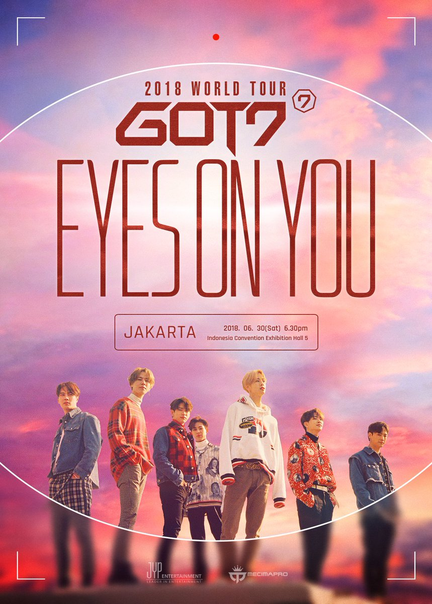 GOT7 2018 World Tour in Jakarta Juli 2018 saungkorea.com