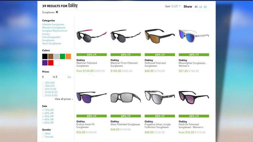 54e26cd3d17 margies money saver up to 65 off oakley sunglasses