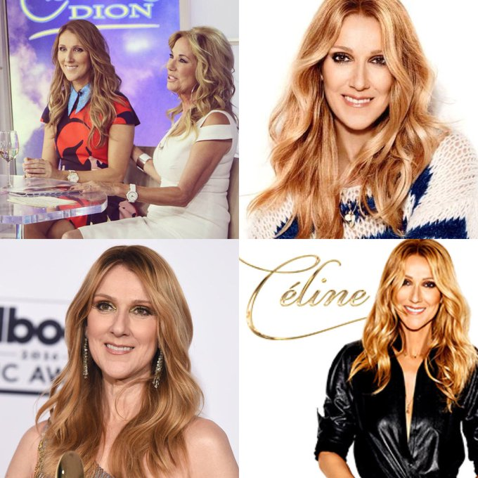 Happy 50 birthday to Celine Dion . Hope that she has a wonderful birthday.