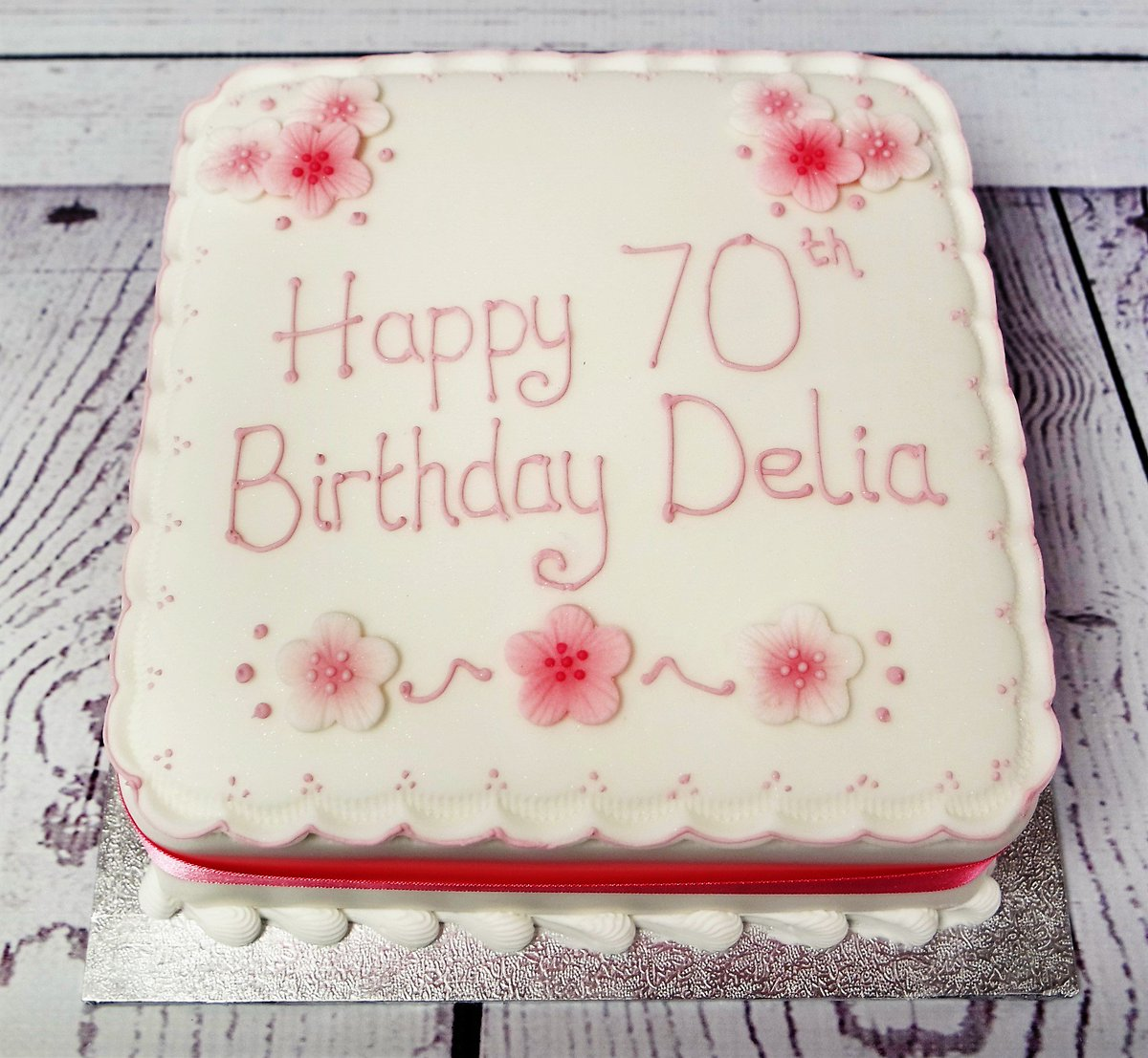 Brilliant Crafty Cakes On Twitter We Hope Delia Enjoyed This Classic Funny Birthday Cards Online Elaedamsfinfo