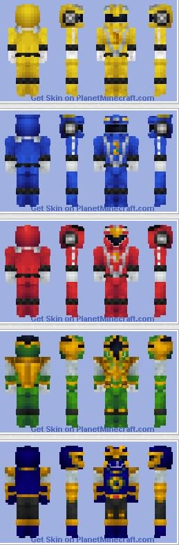 planet minecraft on twitter morph yourself into a power ranger